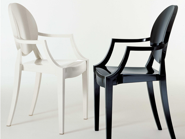polycarbonate | le blog objects by - Chaise Victoria Ghost Starck