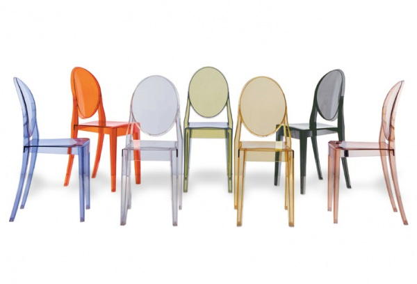 philippe starck | le blog objects by | page 3 - Chaise Victoria Ghost Starck