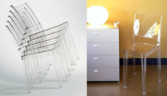 Chaise le blog objects by - Chaise starck transparente ...
