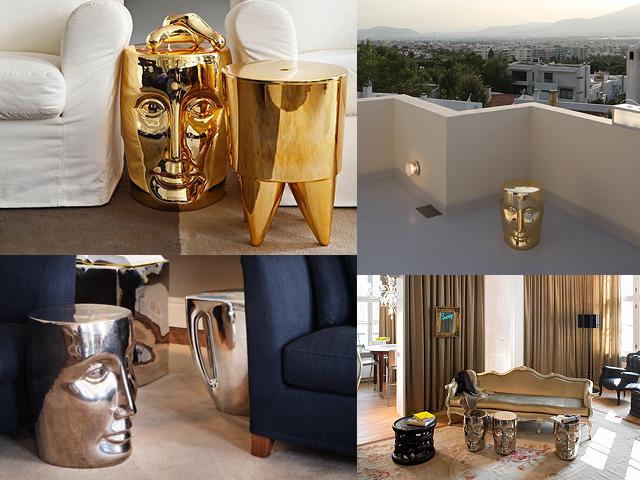 le tabouret bonze par philippe starck pour xo une ic ne le blog objects by. Black Bedroom Furniture Sets. Home Design Ideas