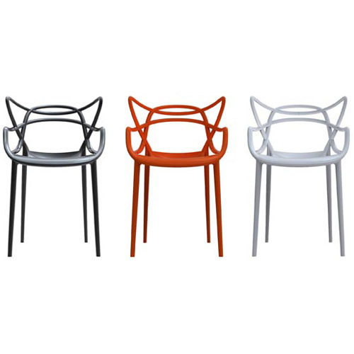 polycarbonate | le blog objects by - Chaises Philippe Starck Kartell