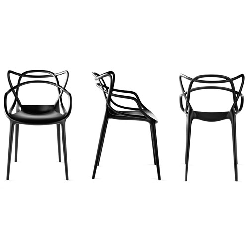 la chaise masters par philippe starck et eugeni quitllet. Black Bedroom Furniture Sets. Home Design Ideas